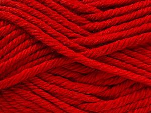 Fiber Content 100% Acrylic, Red, Brand Ice Yarns, Yarn Thickness 6 SuperBulky  Bulky, Roving, fnt2-60450