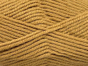 Fiber Content 50% Acrylic, 25% Wool, 25% Alpaca, Brand Ice Yarns, Cafe Latte, Yarn Thickness 5 Bulky  Chunky, Craft, Rug, fnt2-60858