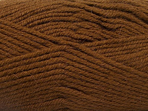 Fiber Content 50% Acrylic, 25% Alpaca, 25% Wool, Brand Ice Yarns, Brown, Yarn Thickness 5 Bulky  Chunky, Craft, Rug, fnt2-60860