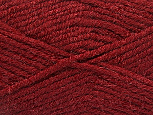 Fiber Content 50% Acrylic, 25% Alpaca, 25% Wool, Brand Ice Yarns, Burgundy, Yarn Thickness 5 Bulky  Chunky, Craft, Rug, fnt2-60861