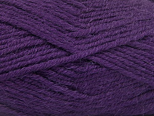 Fiber Content 50% Acrylic, 25% Alpaca, 25% Wool, Purple, Brand Ice Yarns, Yarn Thickness 5 Bulky  Chunky, Craft, Rug, fnt2-60863