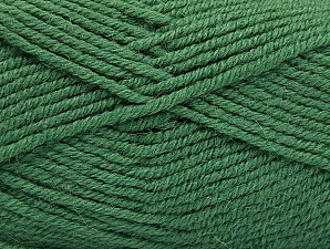 Fiber Content 50% Acrylic, 25% Alpaca, 25% Wool, Brand Ice Yarns, Green, Yarn Thickness 5 Bulky  Chunky, Craft, Rug, fnt2-60866