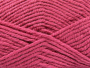 Fiber Content 50% Acrylic, 25% Alpaca, 25% Wool, Light Orchid, Brand Ice Yarns, Yarn Thickness 5 Bulky  Chunky, Craft, Rug, fnt2-60868