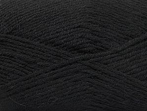 Fiber Content 50% Acrylic, 25% Alpaca, 25% Wool, Brand Ice Yarns, Black, Yarn Thickness 3 Light  DK, Light, Worsted, fnt2-60889