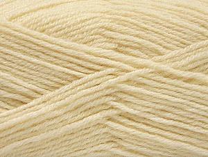 Fiber Content 50% Acrylic, 25% Alpaca, 25% Wool, Brand Ice Yarns, Cream, Yarn Thickness 3 Light  DK, Light, Worsted, fnt2-60891