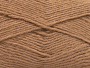 Fiber Content 50% Acrylic, 25% Alpaca, 25% Wool, Brand Ice Yarns, Camel, Yarn Thickness 3 Light  DK, Light, Worsted, fnt2-60893