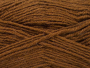 Fiber Content 50% Acrylic, 25% Alpaca, 25% Wool, Brand Ice Yarns, Brown, Yarn Thickness 3 Light  DK, Light, Worsted, fnt2-60894