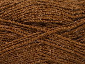 Fiber Content 50% Acrylic, 25% Alpaca, 25% Wool, Brand Ice Yarns, Brown, Yarn Thickness 3 Light  DK, Light, Worsted, fnt2-60894