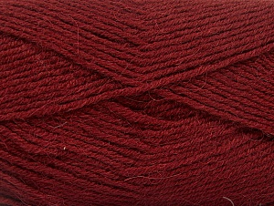 Fiber Content 50% Acrylic, 25% Alpaca, 25% Wool, Brand Ice Yarns, Burgundy, Yarn Thickness 3 Light  DK, Light, Worsted, fnt2-60895