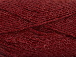 Fiber Content 50% Acrylic, 25% Alpaca, 25% Wool, Brand Ice Yarns, Burgundy, Yarn Thickness 3 Light  DK, Light, Worsted, fnt2-60895