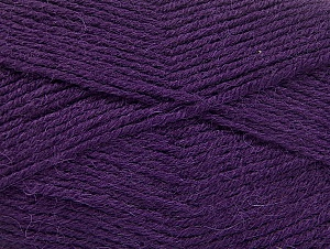 Fiber Content 50% Acrylic, 25% Alpaca, 25% Wool, Purple, Brand Ice Yarns, Yarn Thickness 3 Light  DK, Light, Worsted, fnt2-60896
