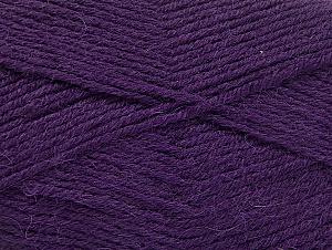 Fiber Content 50% Acrylic, 25% Alpaca, 25% Wool, Purple, Brand Ice Yarns, Yarn Thickness 3 Light  DK, Light, Worsted, fnt2-60896