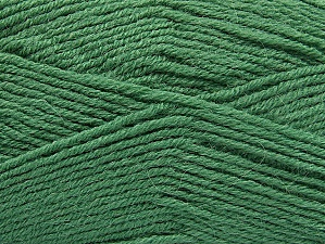 Fiber Content 50% Acrylic, 25% Wool, 25% Alpaca, Brand Ice Yarns, Green, Yarn Thickness 3 Light  DK, Light, Worsted, fnt2-60900