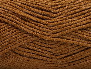 Fiber Content 100% Acrylic, Brand Ice Yarns, Brown, Yarn Thickness 5 Bulky  Chunky, Craft, Rug, fnt2-60928