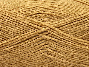 Fiber Content 100% Acrylic, Brand Ice Yarns, Cafe Latte, Yarn Thickness 4 Medium  Worsted, Afghan, Aran, fnt2-60959