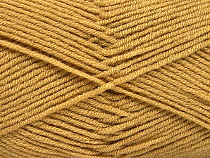 Fiber Content 100% Acrylic, Light Brown, Brand Ice Yarns, Yarn Thickness 4 Medium  Worsted, Afghan, Aran, fnt2-60960