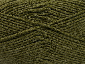 Fiber Content 100% Acrylic, Brand Ice Yarns, Dark Green, Yarn Thickness 4 Medium  Worsted, Afghan, Aran, fnt2-60981