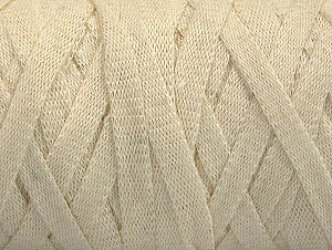 Fiber Content 100% Recycled Cotton, Brand Ice Yarns, Ecru, Yarn Thickness 6 SuperBulky  Bulky, Roving, fnt2-61086