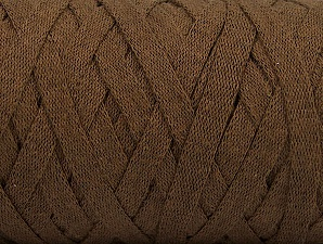 Fiber Content 100% Recycled Cotton, Brand Ice Yarns, Brown, Yarn Thickness 6 SuperBulky  Bulky, Roving, fnt2-61087