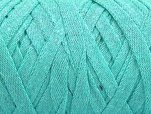 Fiber Content 100% Recycled Cotton, Mint Green, Brand Ice Yarns, Yarn Thickness 6 SuperBulky  Bulky, Roving, fnt2-61089
