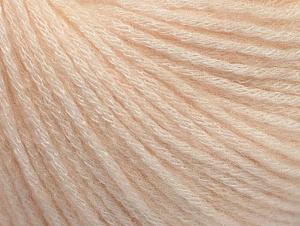 Fiber Content 85% Acrylic, 15% Bamboo, Light Salmon, Brand Ice Yarns, Yarn Thickness 4 Medium  Worsted, Afghan, Aran, fnt2-61094