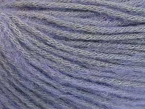 Fiber Content 85% Acrylic, 15% Bamboo, Light Lilac, Brand Ice Yarns, Yarn Thickness 4 Medium  Worsted, Afghan, Aran, fnt2-61095