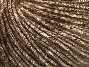 Fiber Content 85% Acrylic, 15% Bamboo, Brand Ice Yarns, Brown, Beige, Yarn Thickness 4 Medium  Worsted, Afghan, Aran, fnt2-61096