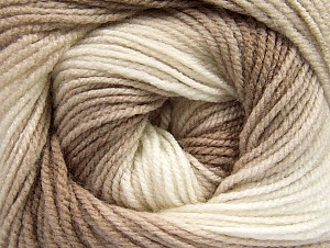 Fiber Content 100% Baby Acrylic, Brand Ice Yarns, Cream, Camel, Beige, Yarn Thickness 2 Fine  Sport, Baby, fnt2-61137