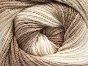 Fiber Content 100% Baby Acrylic, Brand Ice Yarns, Cream, Camel, Beige, Yarn Thickness 2 Fine Sport, Baby, fnt2-61137