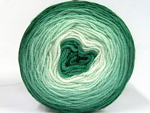 Fiber Content 100% Premium Acrylic, Brand Ice Yarns, Green Shades, Yarn Thickness 2 Fine  Sport, Baby, fnt2-61150