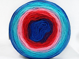 Fiber Content 100% Premium Acrylic, Turquoise, Red, Purple, Pink, Brand Ice Yarns, Blue, Yarn Thickness 3 Light DK, Light, Worsted, fnt2-61182
