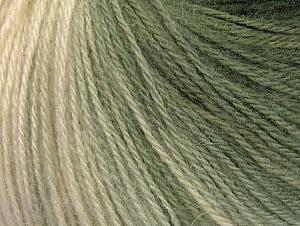 Fiber Content 60% Acrylic, 20% Angora, 20% Wool, Brand ICE, Grey Shades, Cream, Yarn Thickness 2 Fine  Sport, Baby, fnt2-61192