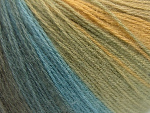 Fiber Content 60% Acrylic, 20% Wool, 20% Angora, White, Light Grey, Brand Ice Yarns, Green Shades, Blue Shades, Yarn Thickness 2 Fine  Sport, Baby, fnt2-61194