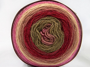 Fiber Content 70% Premium Acrylic, 30% Wool, Yellow, Rose Pink, Red, Pink Shades, Brand Ice Yarns, Yarn Thickness 3 Light  DK, Light, Worsted, fnt2-61224