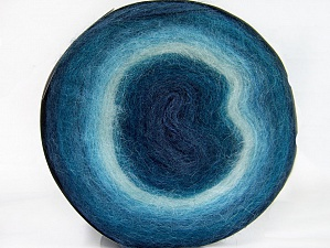 Fiber Content 60% Acrylic, 20% Wool, 20% Angora, Brand Ice Yarns, Blue Shades, Yarn Thickness 2 Fine  Sport, Baby, fnt2-61238