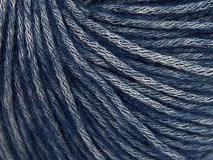 Fiber Content 85% Acrylic, 15% Bamboo, Navy, Brand Ice Yarns, Grey, Yarn Thickness 4 Medium  Worsted, Afghan, Aran, fnt2-61246
