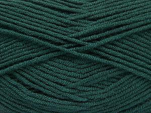 Fiber Content 100% Acrylic, Brand Ice Yarns, Dark Green, Yarn Thickness 4 Medium  Worsted, Afghan, Aran, fnt2-61283