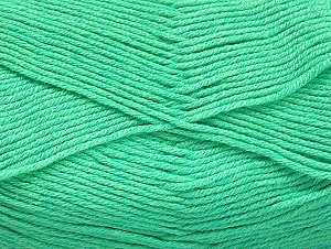 Fiber Content 60% Bamboo, 40% Polyamide, Mint Green, Brand Ice Yarns, Yarn Thickness 2 Fine  Sport, Baby, fnt2-61316