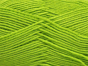 Fiber Content 60% Bamboo, 40% Polyamide, Brand Ice Yarns, Green, Yarn Thickness 2 Fine  Sport, Baby, fnt2-61317