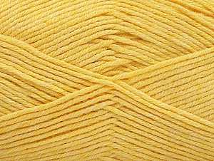 Fiber Content 60% Bamboo, 40% Polyamide, Yellow, Brand Ice Yarns, Yarn Thickness 2 Fine  Sport, Baby, fnt2-61321