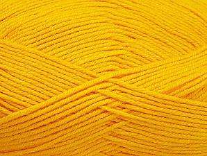 Fiber Content 60% Bamboo, 40% Polyamide, Brand Ice Yarns, Dark Yellow, Yarn Thickness 2 Fine  Sport, Baby, fnt2-61322