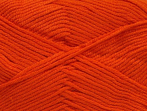 Fiber Content 60% Bamboo, 40% Polyamide, Brand Ice Yarns, Dark Orange, Yarn Thickness 2 Fine  Sport, Baby, fnt2-61323