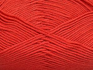 Fiber Content 60% Bamboo, 40% Polyamide, Brand Ice Yarns, Dark Salmon, Yarn Thickness 2 Fine  Sport, Baby, fnt2-61324