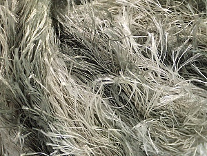 Fiber Content 100% Polyester, Silver, Brand Ice Yarns, Grey Shades, Yarn Thickness 5 Bulky  Chunky, Craft, Rug, fnt2-61344