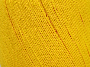 Yarn is best for swimwear like bikinis and swimsuits with its water resistant and breathing feature. Fiber Content 100% Polyamide, Yellow, Brand Ice Yarns, Yarn Thickness 2 Fine  Sport, Baby, fnt2-61348