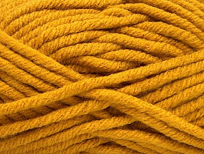 Fiber Content 100% Acrylic, Brand Ice Yarns, Gold, Yarn Thickness 6 SuperBulky  Bulky, Roving, fnt2-61359