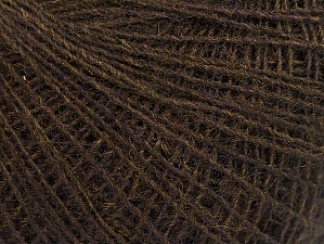 Fiber Content 40% Acrylic, 40% Wool, 20% Viscose, Brand Ice Yarns, Dark Brown, fnt2-61363