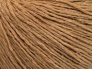 Fiber Content 100% Cotton, Light Camel, Brand Ice Yarns, Yarn Thickness 1 SuperFine  Sock, Fingering, Baby, fnt2-62001