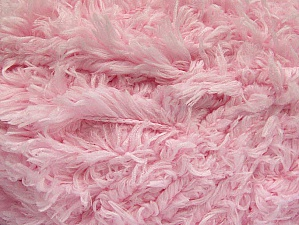 Fiber Content 100% Micro Fiber, Brand Ice Yarns, Baby Pink, Yarn Thickness 6 SuperBulky  Bulky, Roving, fnt2-62278