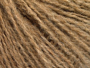 Fiber Content 50% Acrylic, 50% Wool, Light Brown, Brand Ice Yarns, Yarn Thickness 3 Light  DK, Light, Worsted, fnt2-62305